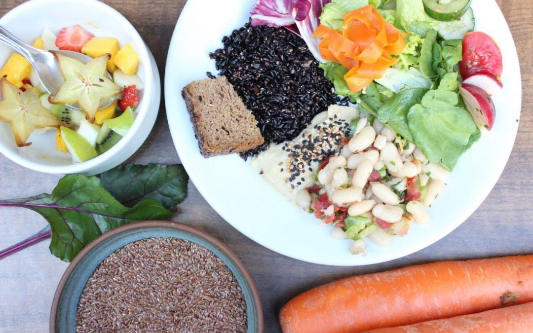 Como montar um prato vegetariano?